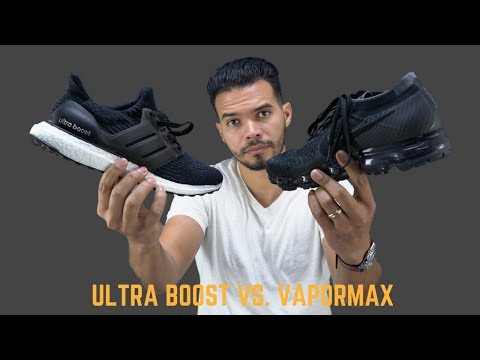 Thumbnail: Which Has Better Tech? | Adidas Ultra Boost vs Nike Vapormax