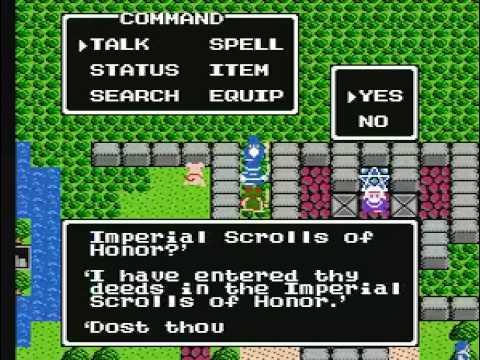 TAS Dragon Warrior 2 NES in 46:25 by TheAxeMan