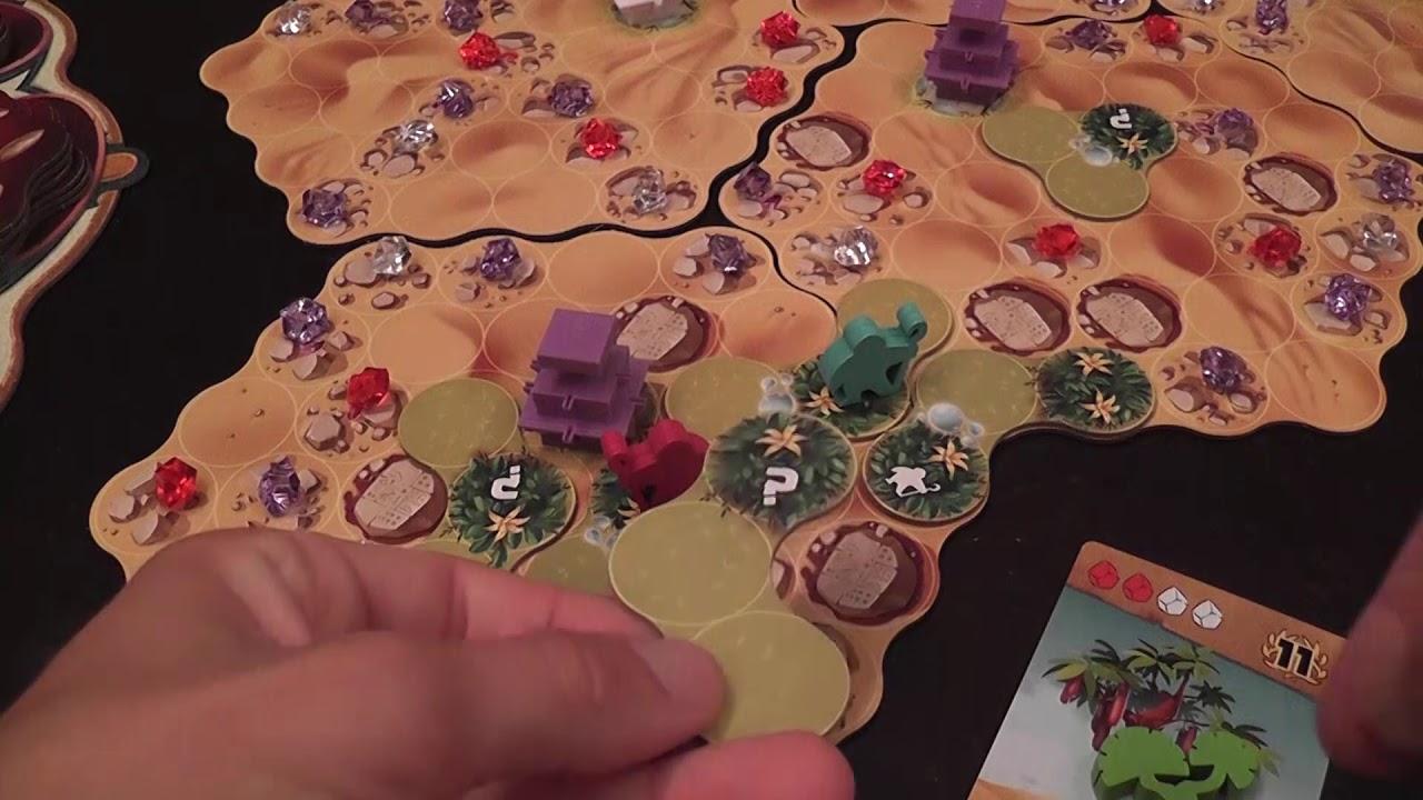 Ishtar (Iello) Review CONTEST!! WIN THE GAME!!!