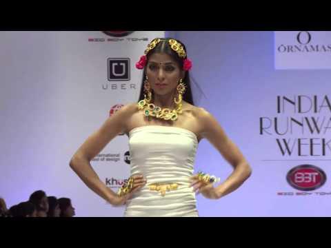 IFFD's India Runway Week (Winter Festive 2015) (Jewelry Show) -Ornamas