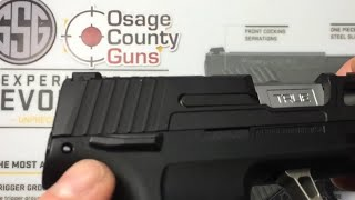 Sig Sauer P365 manual safety conversion kit by Osage County Guns