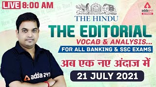 The Hindu Editorial Analysis | The Hindu Vocabulary for Banking & SSC Exams 21 July 2021 screenshot 5