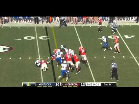 Danny Trevathan vs Georgia 2011