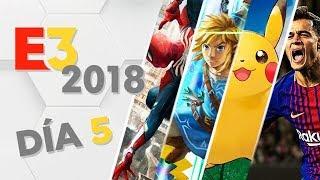 E3 Día 5: Lo MEJOR y lo PEOR de SMASH BROS ULTIMATE, SPIDER-MAN y RAGE 2