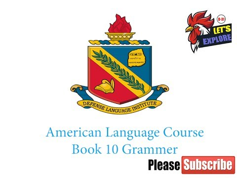 American Language Course Placement Test ALCPT Book 10-Grammer
