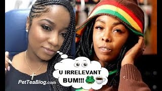 Toya Wright Goes in on Khia for coming for her Baby Daddy, Reginae Speaks too (Video)👀