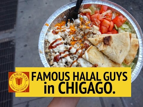 HALAL GUYS IN CHICAGO!!! | DIANE SPEAKS
