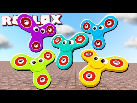 THE PALS BECOME FIDGET SPINNERS IN ROBLOX!