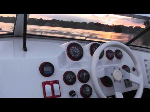 Checkmate 219 Persuader, 540 BB, Dual Ram Steering, Dana Marine Tabs