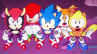 Sonic Mania Plus - All Endings + Secret Final Boss