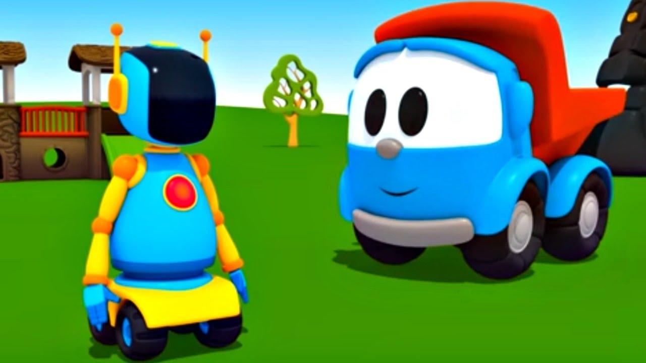 Dessin animé robot