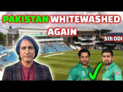 Pakistan WhiteWashed again | 5th ODI | Ramiz Speaks