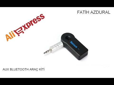 Bluetooth aux araç kiti nasıl kullanılır Aliexpress #9