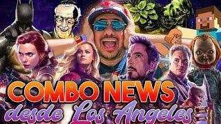 Alfombra roja Avengers4, Documental Stan Lee, trailer Chucky, 5 pelis John Wick y más #ComboNews