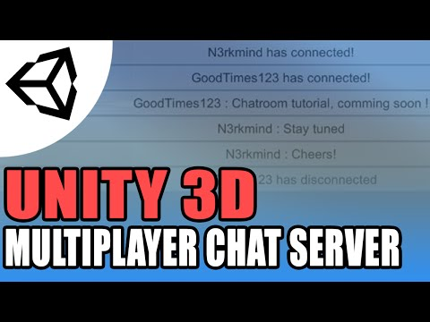 Unity 5 Multiplayer Chat Server - Unity 3D[Tutorial][C#]