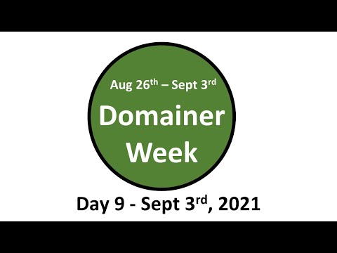 Domainer Week 1 - Day 9 - Domain Social w Monte Cahn