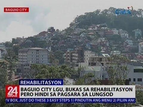 Baguio City LGU, bukas sa rehabilitasyon pero hindi sa pagsara sa lungsod