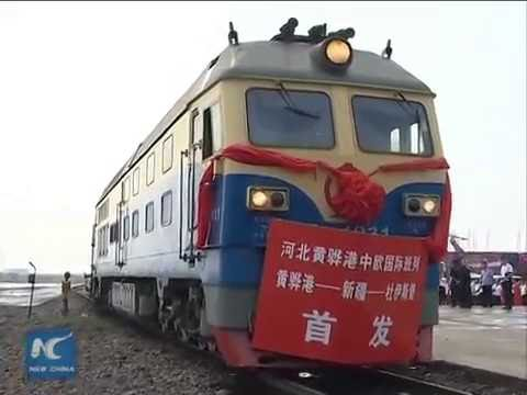 Cargo train service to Europe leaves China for 18-day tour
