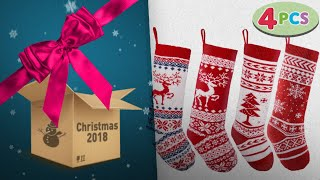 Best Knitted Christmas Stockings To Buy On Christmas 2018. | Christmas Countdown Guide