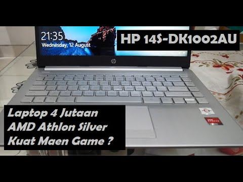 Download Review Laptop Amd Athlon Silver HP 14S DK1002AU Indonesia