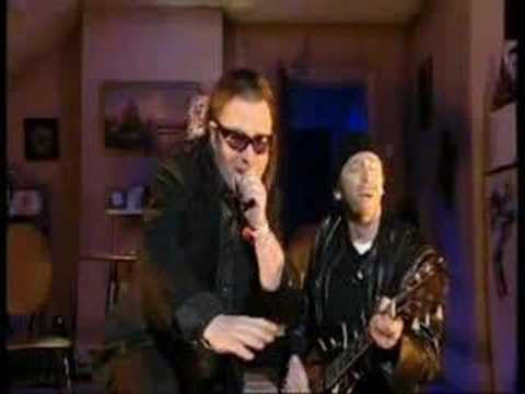 U2, Bono, The Edge  Paul Whitehouse and Harry Enfield