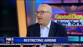 Nyc Law Restriction On Airbnb | Shelly Palmer On Fox 5