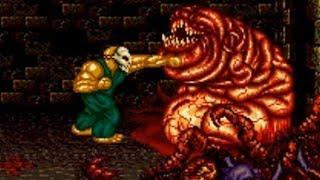 Splatterhouse 2 (Genesis) Playthrough - NintendoComplete