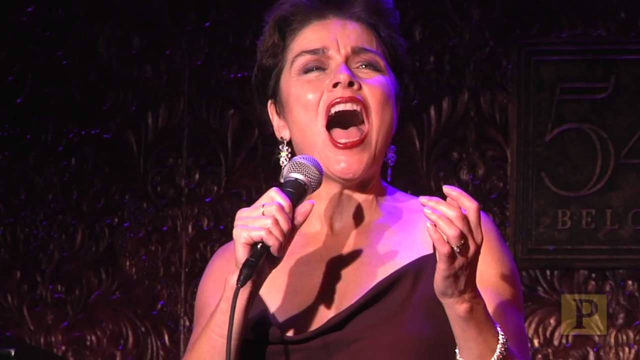 Christine Andreas in Rehearsal At 54 Below - YouTube