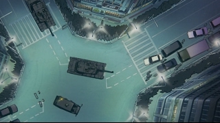 片段出自《机动警察PATLABOR 2 the Movie》,练马驻屯地事件后,陆海空幕僚长一齐辞职,警视厅与自卫队之间的对峙彻底升级到白热化阶段。当晚,陆自...