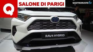 Nuova Toyota Rav 4: cambia tutta la SUV ibrida da 224 CV