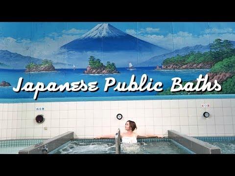 What a Public Bath in Japan Looks Like! | TOKYO SENTO