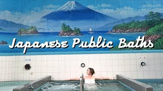 What a Public Bath in Japan Looks Like! | TOKYO SENTO