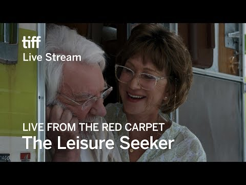 THE LEISURE SEEKER Live on the Red Carpet | TIFF17