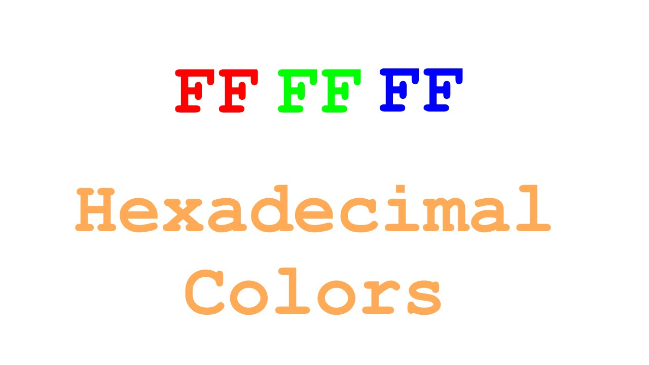 Game maker colors - Quick Tips Game Maker Hex Colors