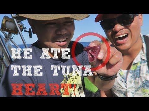 Tuna Fishing In Oahu HAWAII (Catch And COOK)