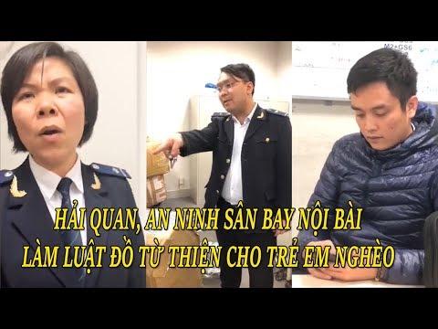 An ninh sân bay Nội Bài say rượu ăn chặn, làm luật đồ từ thiện cho trẻ em nghèo vùng cao