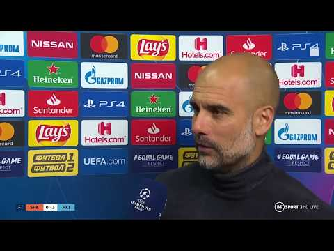 Pep bullish after Manchester City's bounce back win in  Ukraine