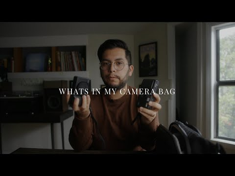 What's In My Camera Bag? | Photographer 2020 Edition
