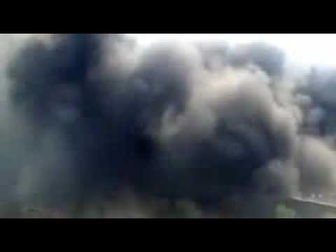 #GazaUnderAttack - Israel targets a house in Deir El Balah - Day 7