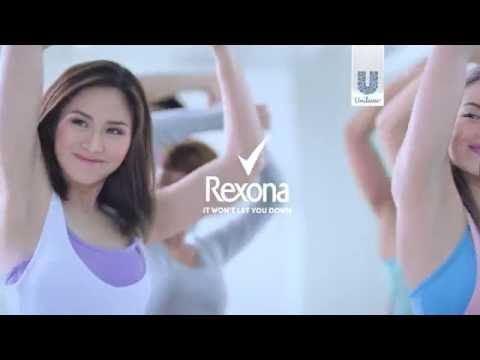 Sarah Geronimo For #RexonaWhitening With Sunflower Seed Oil!
