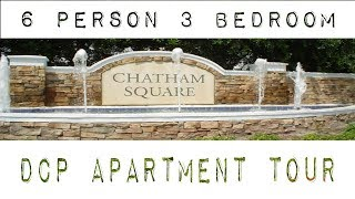 chatham square 6 person 3 bedroom apartment tour // dcp spring 2019