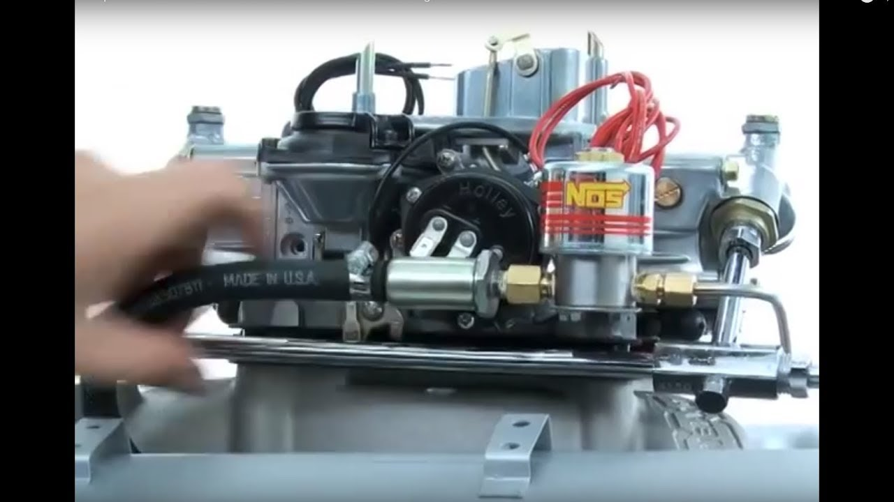 nos installation tips: how to install a fuel solenoid on a carbureted engine