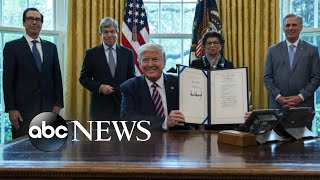 President signs stimulus bill | WNT