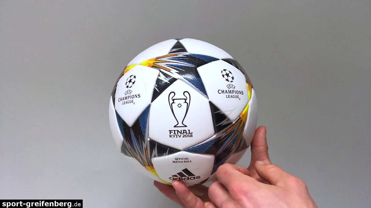 5bbe6534780 Adidas Finale 18 Kiev als Champions League 2018 Final Ball - YouTube