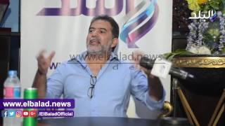 محسن محيي الدين: لم أندم على أي عمل فني قدمته «فيديو وصور»