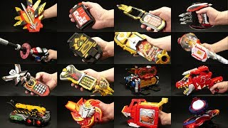 スーパー戦隊シリーズ 強化フォーム 変身アイテムズ 21世紀版 Super Sentai Series Main Power Up Makeover Items 21st Century thumbnail