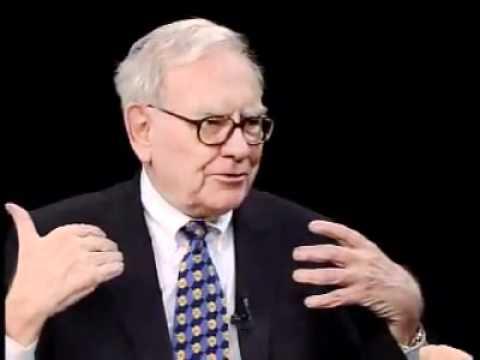 Charlie Rose   Warren Buffett