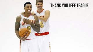 Thank You Jeff Teague || Atlanta Hawks Highlights