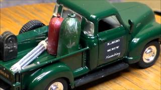 Custom Lighted 1953 Chevy 3100 pickup
