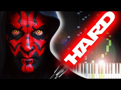 STAR WARS  DUEL OF THE FATES  Piano Tutorial